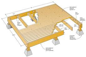 patio deck plans. Unique Plans 12 X Wood Deck Plans   And Designs For A How  To Build An Outdoor  With Patio Pinterest