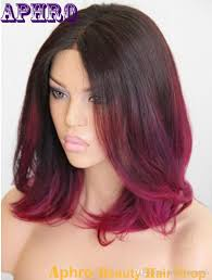 Red Ombre Hair Color Short Hair