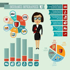 Presentation Charts And Graphs Free Businesswoman Hipster Girl Insurance Company Agent