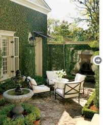 courtyard furniture ideas. Love This Classic Style Outdoor Living Area, The Fairs, Greenery - Gorgeous. Courtyard Furniture Ideas