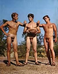 Vintage Nude Male Groups