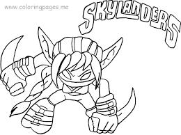 Skylanders Imaginators Printable Coloring Pages Pictures Giants Home