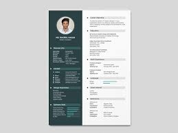 Cv Template For Designers Free Simple Resume Template With Clean Design By Julian Ma