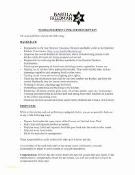 Server Job Duties For Resume Classy Server Job Duties Resume Sample Resume For Graduates