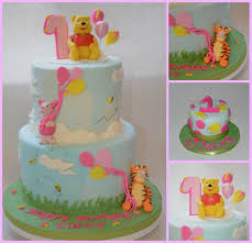 Classic Winnie The Pooh Cake Designs Winnie The Pooh 1st Birthday Cake And Smash Cake But For My