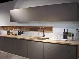 new poggenpohl colour stone grey here is bination with spekva wood worktop