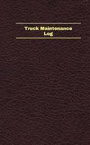 unique logbook record bks truck maintenance log logbook journal 96 pages 5 x 8 inches truck maintenance logbook deep wine cover small by unique