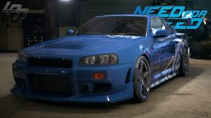 nissan skyline 2015 blue. Modren Nissan NEED FOR SPEED 2015  NISSAN SKYLINE GTR R34 GAMEPLAY TUNING COP  CHASE DRIFTING RACES YouTube In Nissan Skyline 2015 Blue