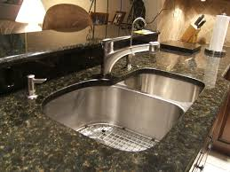 Kitchen Sinks For Granite Countertops Show Me Your Faucet Set Up With Undermount Sinks