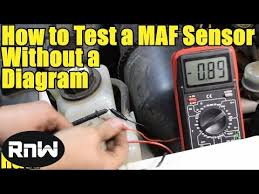 how to test a mass air flow maf sensor out a wiring diagram how to test a mass air flow maf sensor out a wiring diagram