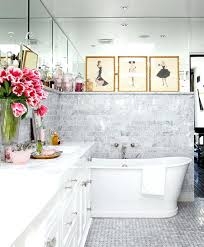white subway tile light gray grout bathroom enlarge stunning master bathrooms traditional home p 1
