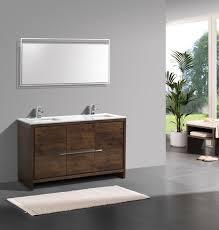 modern bathroom double sink vanity. kubebath dolce 60\u2033 double sink rose wood modern bathroom vanity with white quartz counter-top vanities, dolce, vanities