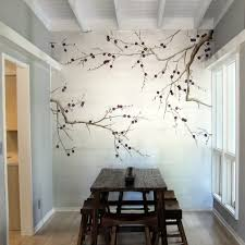 Painted Wall Designs Home Design With Tropical Wall Mural Contemporary Design Wall