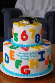 Preschool Graduation Cake Cakes Fprofessionals Music Sports