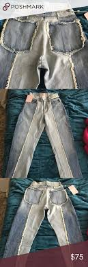 Nwt Never Worn Revice Denim Ziggy Crops Never Worn Still