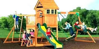 backyard discovery backyard discovery swing set cedar wooden swing set backyard discovery swing set backyard