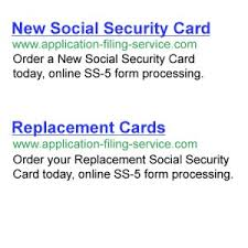 Service Application Lost Security - Filing Card Social