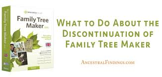 Family Tree Maker 2010 Download What To Do About The Discontinuation Of Family Tree Maker