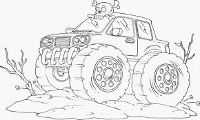 Small Picture KidscolouringpagesorgPrint Download monster jam truck