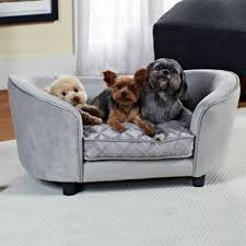 Amazon Enchanted Home Pet Quicksilver Pet Sofa Bed 34 by 3