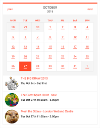 Small Calender Tockify Events Calendar Wordpress Org