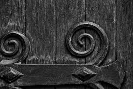 architectural detail photography. Black And White Architectural Detail Photograph Of The Large Wooden Door On Exterior Photography N