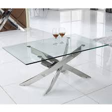 glass coffee table. Vida Kalmar Glass Coffee Table Q