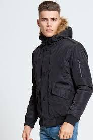 breathtaking mens fur hood jackets 13 black rabbit coat with 2664