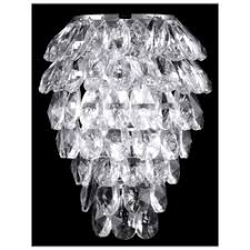«<b>Бра Crystal Lux</b> CHARME AP2+2 LED CHROME/TRANSPARENT ...