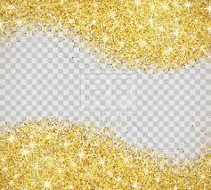 transparent background. Brilliant Transparent Gold Glitter On Transparent Background Vector Image U2013 Artwork Of  Backgrounds Textures  To Transparent Background