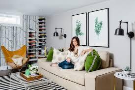 Erin Gates Design Boston How To Design A Stylish Basement The Boston Globe