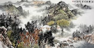famous asian paintings famous chinese landscape painting ink and water asian art