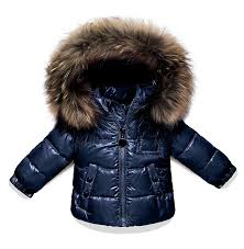puffer coats with fur hood collection for girls 9