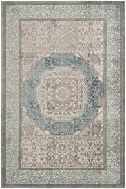 safavieh sofia sof365a light grey blue area rug