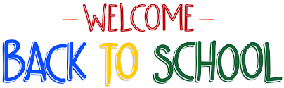 Welcome Back to School PNG Clip Art Image   Gallery Yopriceville -  High-Quality Images and Transparent PNG Free Clipart
