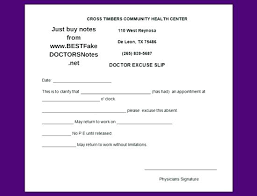 How To Make A Doctor Note An How To Make A Doctors Note Example Doctor Excuse Letter For