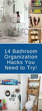 Best 25+ Bathroom organization ideas on Pinterest | Restroom ideas,  Apartment bathroom decorating and Organizing ideas