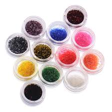 Wholesale Hot Sale Metal Shiny Glitter Uv Powder Nail Art Kit ...