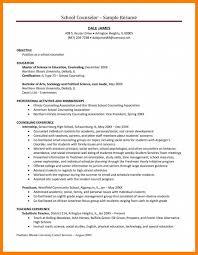 School Counselor Resume Sample Guidance Counselor Resume Sidemcicek Com School Counselor Resume 81