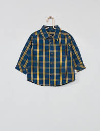 <b>Рубашки</b>   малыши размер 68   Kiabi