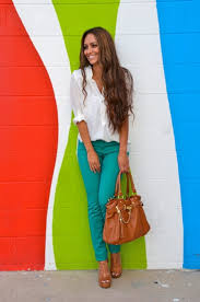 Colors That Match Turquoise 30 Ways To Mix Turquoise Teal Work Clothes For Women
