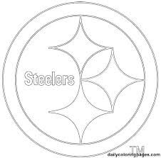 free nfl coloring pages coloring pages free logo football printable free printable nfl logo coloring pages