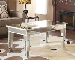 Mirrored coffee table with mirrored legs mirrored coffee tables