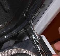 hinge safety lock engaged