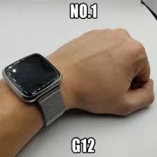 """""""Смартчасы"""" <b>No</b>.<b>1 G12</b> - ставка на магнитный браслет!"""