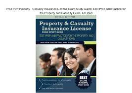 This unit is also the nation's second largest independent wholesale distributor of commercial property/casualty insurance. Property Property And Casualty Insurance Study Guide Pdf