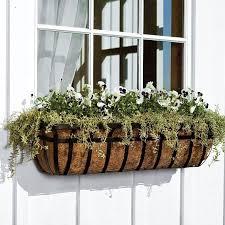 Metal Window Box Planter