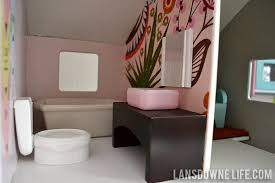how to make dollhouse furniture. DIY Dollhouse Bathroom Furniture How To Make
