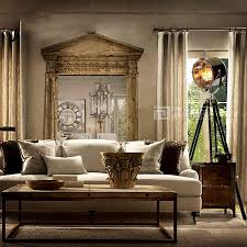nordic loft industrial vintage tripod floor lamp retro studio photography light home decor lamp for living