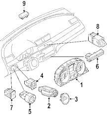 Genuine volkswagen inst cluster vwg 3c0920971axz01